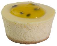 Baby Passionfruit Cheesecake  Individual  Bites Baby Cakes