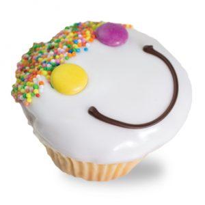 Vanilla Funny Face Cupcakes  Individual  Treats Cupcakes